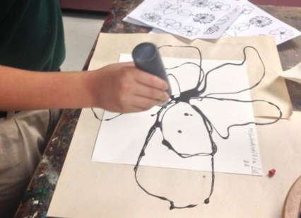 【保育製作】ダイナミックな絵を描く方法☆子どもと製作を楽しむアイディア