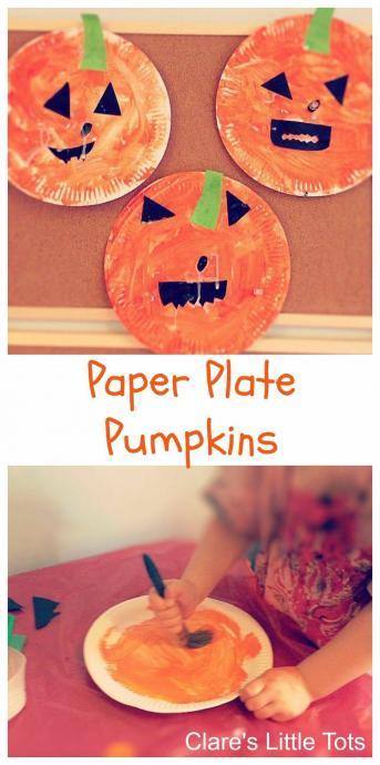 製作活動 かぼちゃ