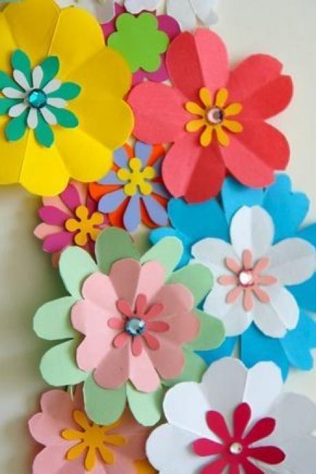 卒園式の飾りに お花